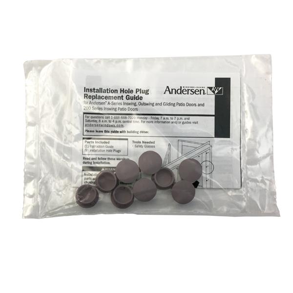 Andersen Frame Hole Plugs 9014048  Andersen Windows and Doors