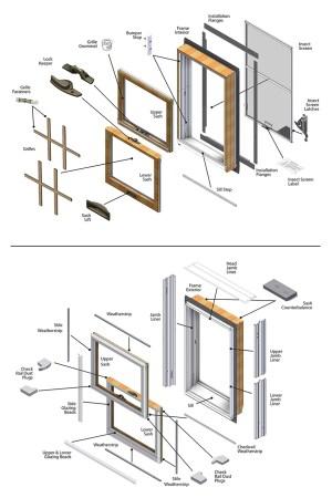 200 Series Narroline® Parts Diagram