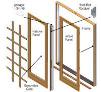 Parts - Andersen 400 Series Hinged Patio Door