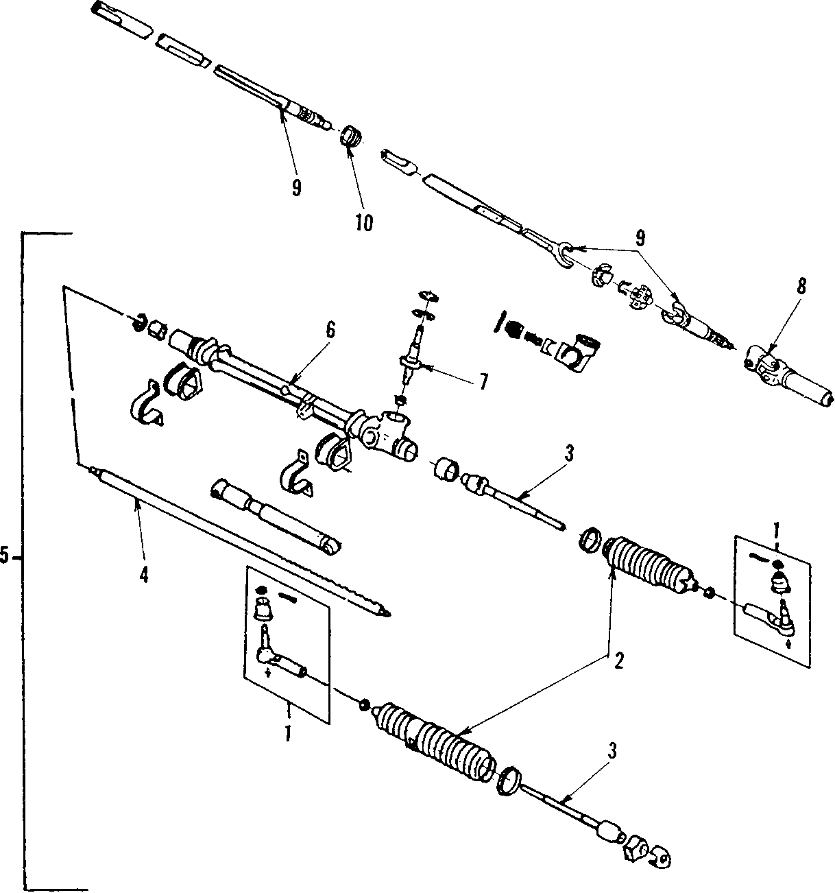 Pontiac Fiero Rack And Pinion Assembly Steering Gear
