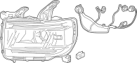 2020 GMC Canyon Headlight Wiring Harness. CANYON, headlamp
