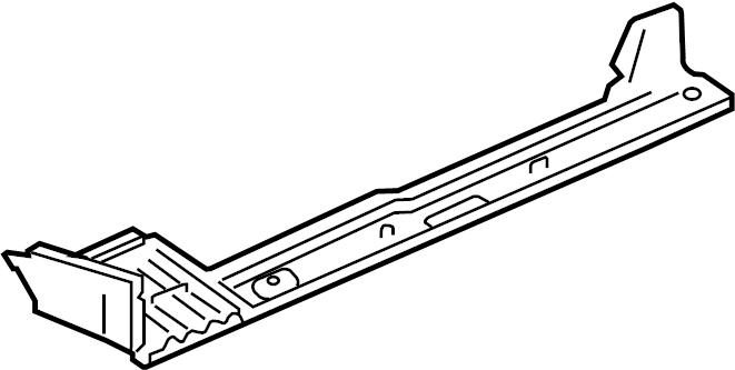 2006 Audi TT Floor Side Rail (Front). CONVERTIBLE. COUPE