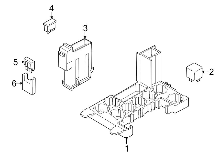 Audi Q7 Fuse. Circuit breaker. Fusible Link. Maxi