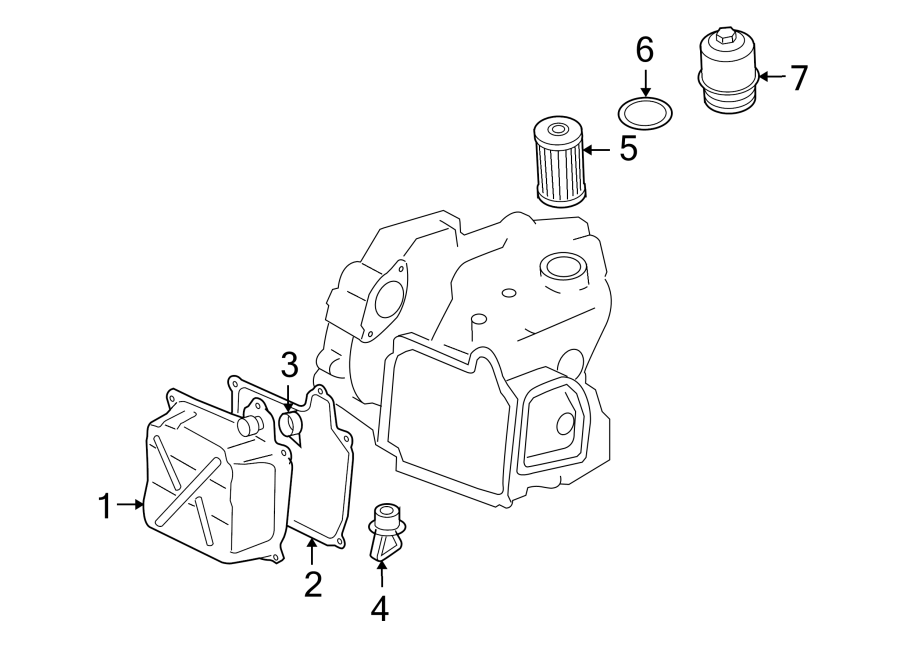 2008 Audi Automatic Transmission Drain Plug. Automatic