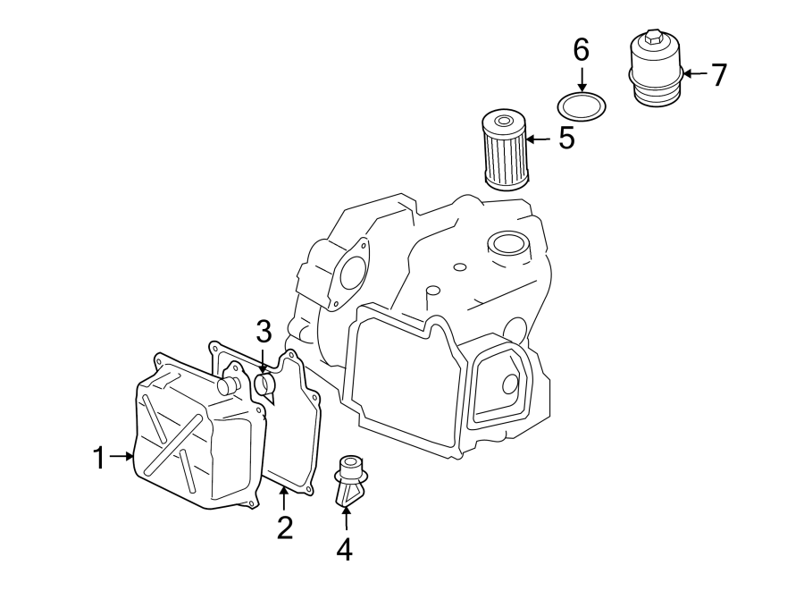 2008 Audi Automatic Transmission Oil Pan Drain Plug. 1.8