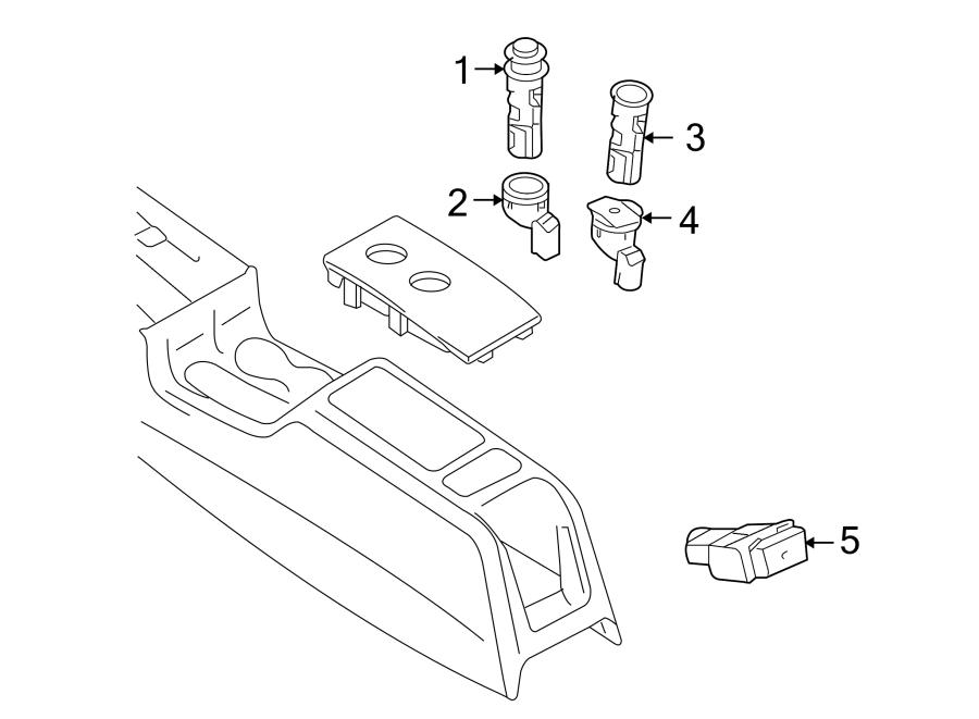 2011 Audi Lighter. Outlet. Power. (Rear). BODY