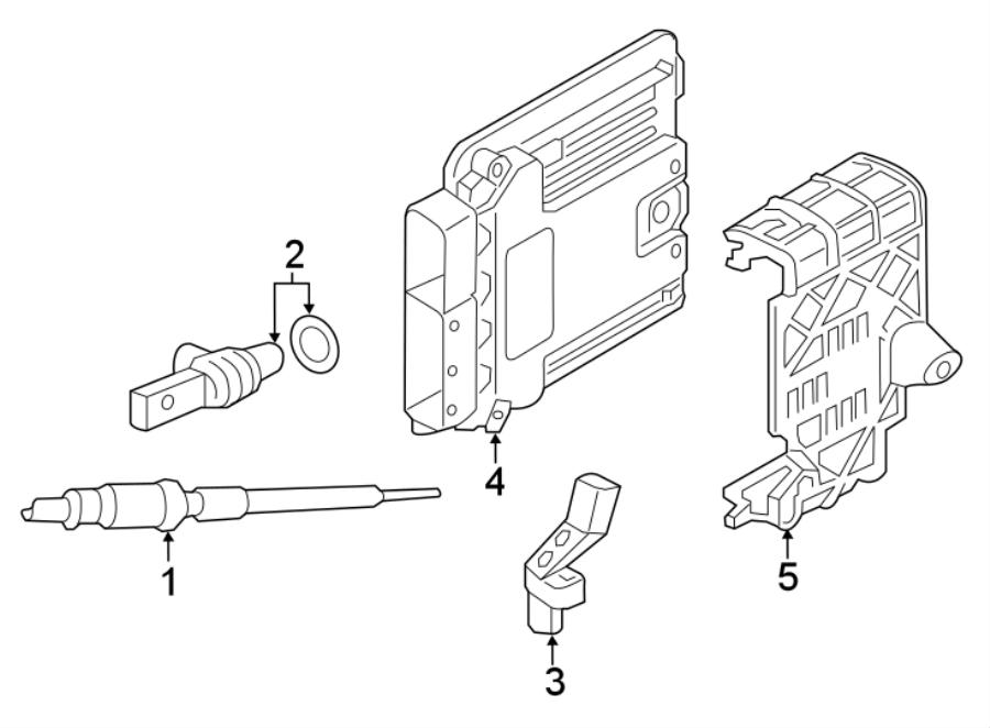 Audi A3 Engine Camshaft Position Sensor. LITER, DIESEL