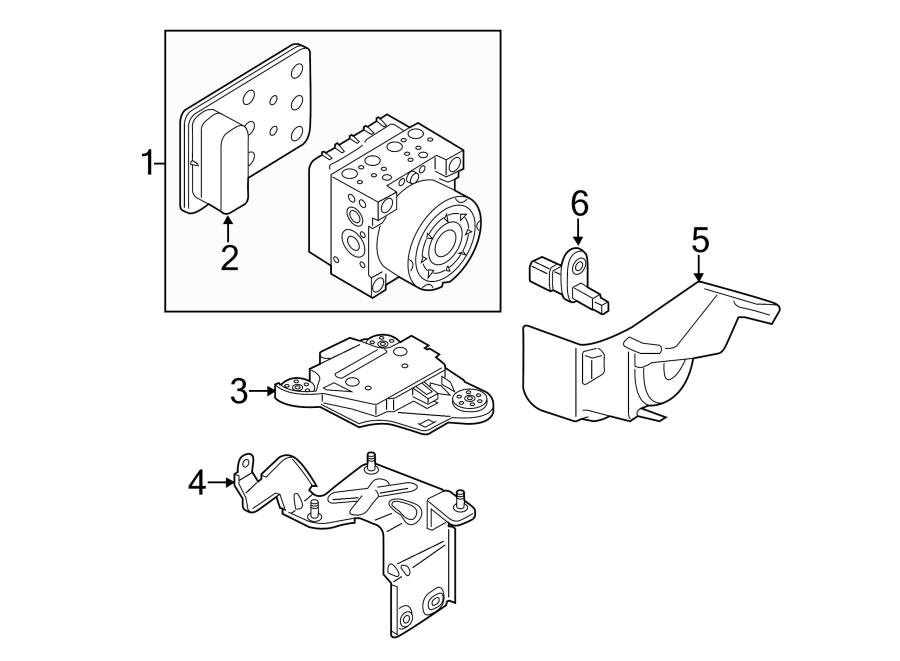 Audi A3 Abs control module. Brake, electrical, light