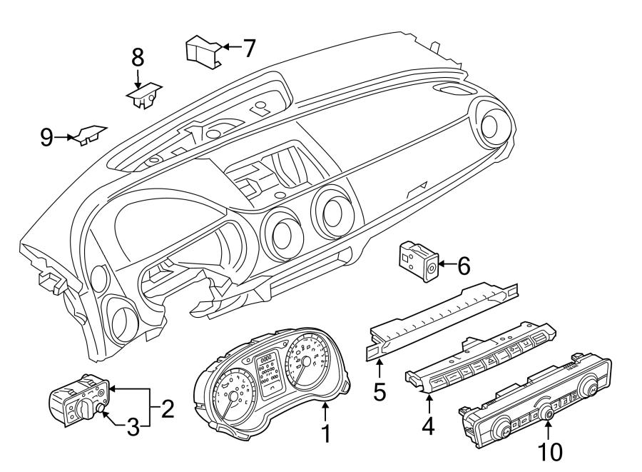 2017 Audi A3 Premium Plus Sedan 2.0L A/T Quattro Control
