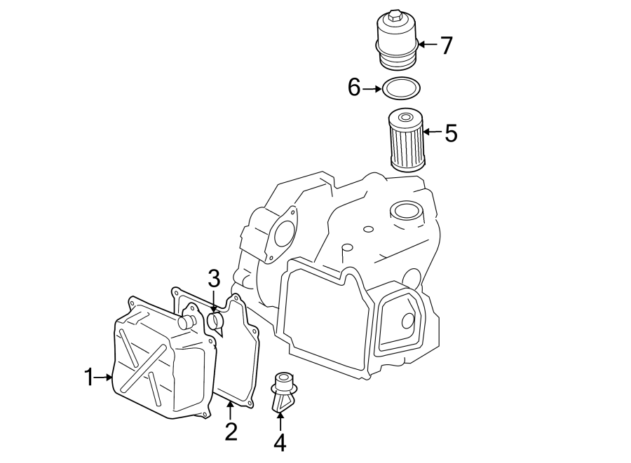 2016 Audi A3 Filter. Ring. Seal. Housing. Transmission