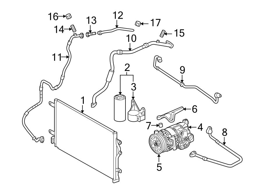 Audi A4 A/c compressor clutch pulley. Liter, air, heater
