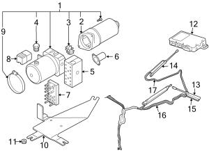 2008 Audi A4 Contour Unit Control module Convertible
