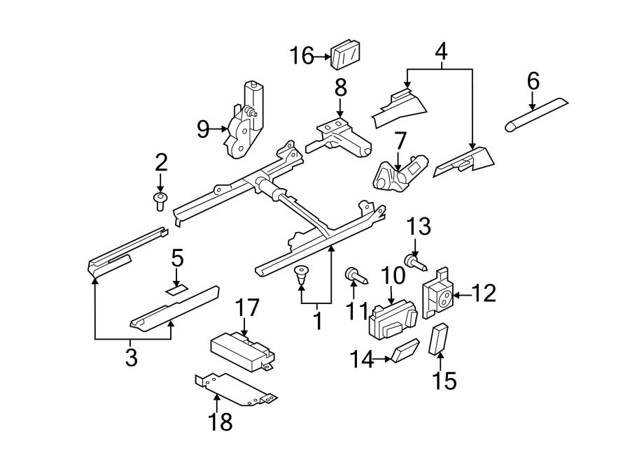 Audi A5 Power Seat Control Module. Memory, Convertible