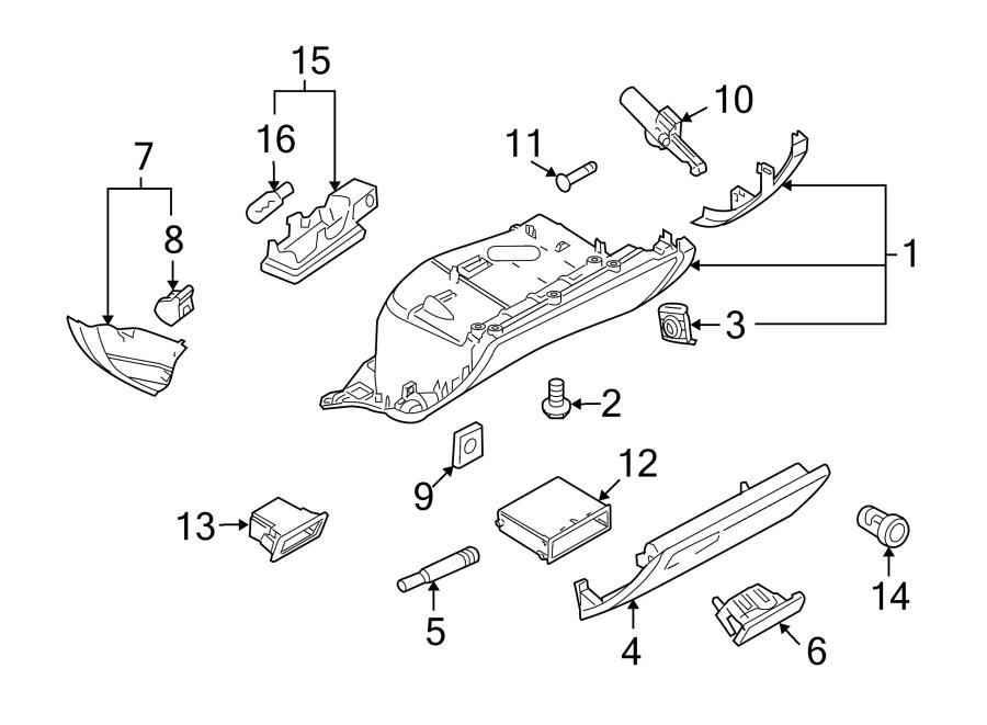 Audi A5 Storage. Compartment. Box. GLOVE, Player