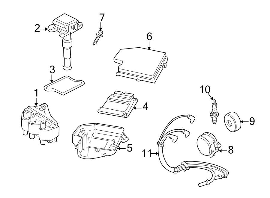 1999 Audi A6 Cable set. Spark plug wire. Cylinder 5. Liter