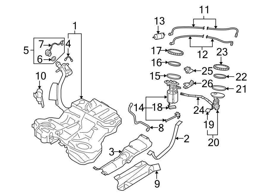 Audi S6 Fuel Tank Sending Unit. Level, Sender, Gauge