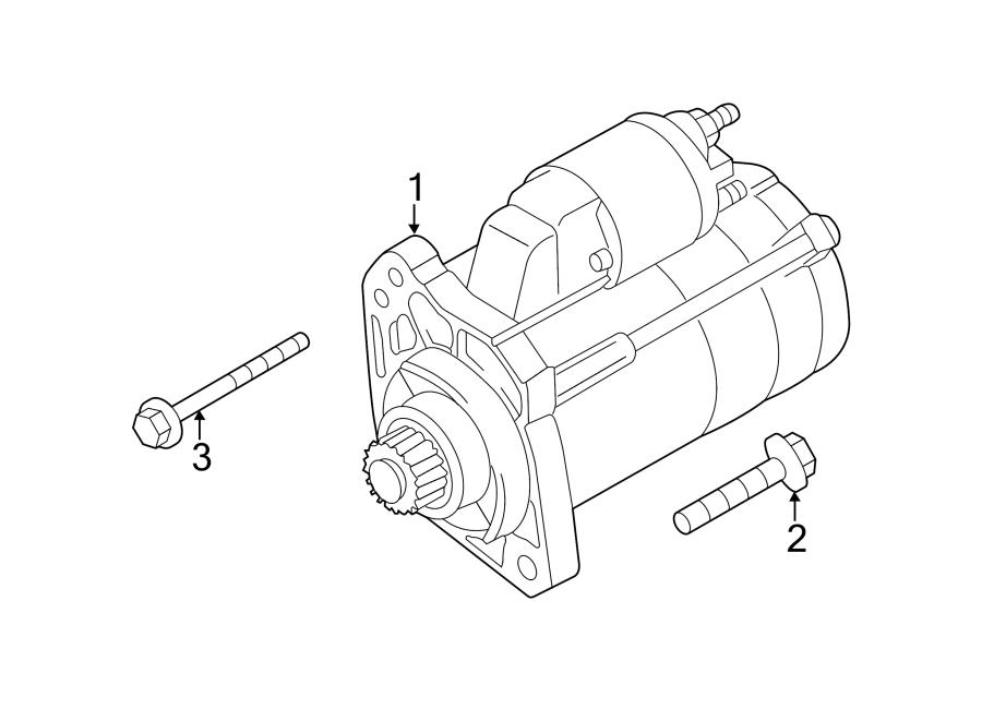 2005 Audi A8 Starter Motor. Remanufactured, New, LITER