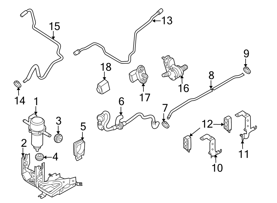 2011 Audi R8 Spyder Convertible Abs modulator bracket