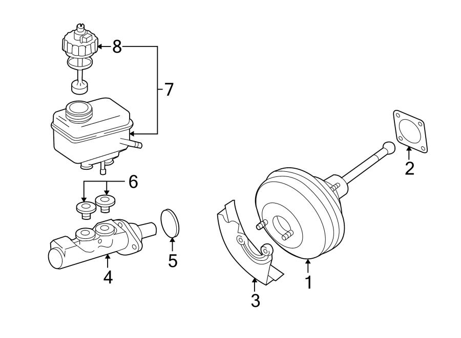 Audi TT Brake Master Cylinder Reservoir Cap. COVER