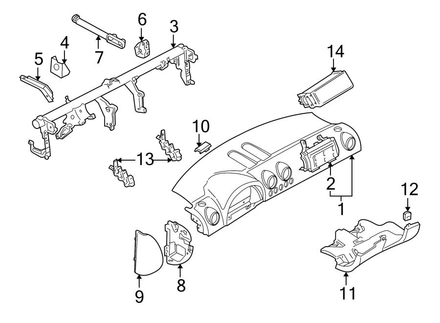 2003 Audi TT Adjustpart. Crossmember adjuster. From vin