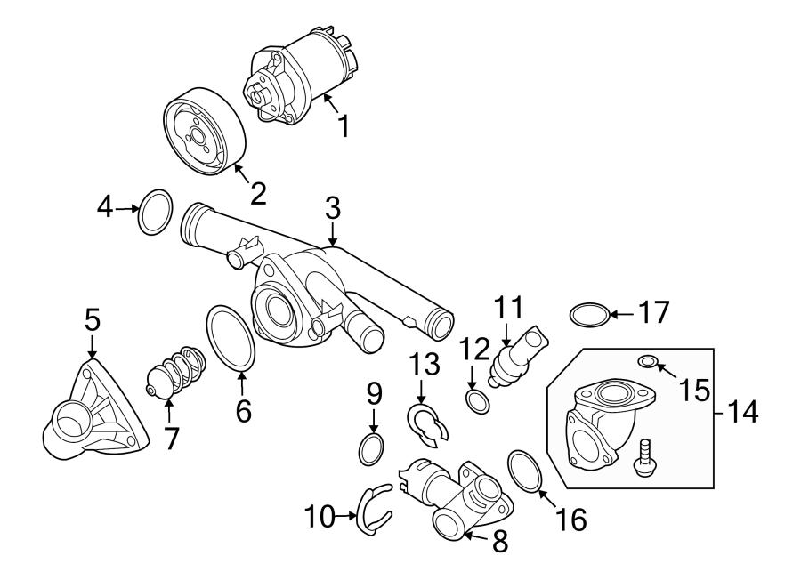 2007 Audi. 3.6 liter. 3.6 liter, main. Adapter, engine