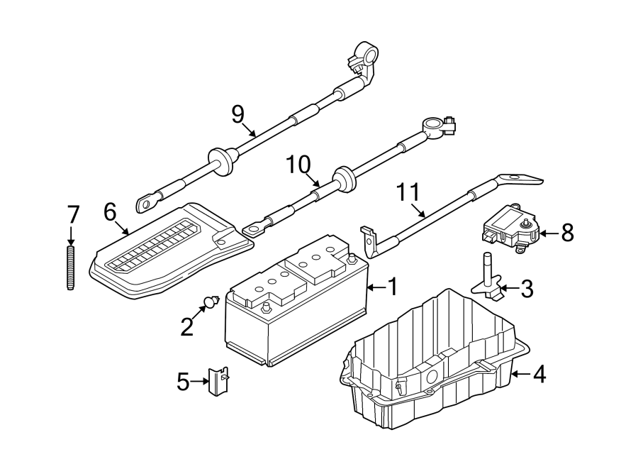 Audi Q7 Vehicle Battery. Power Source. Amp, CCA, Hour