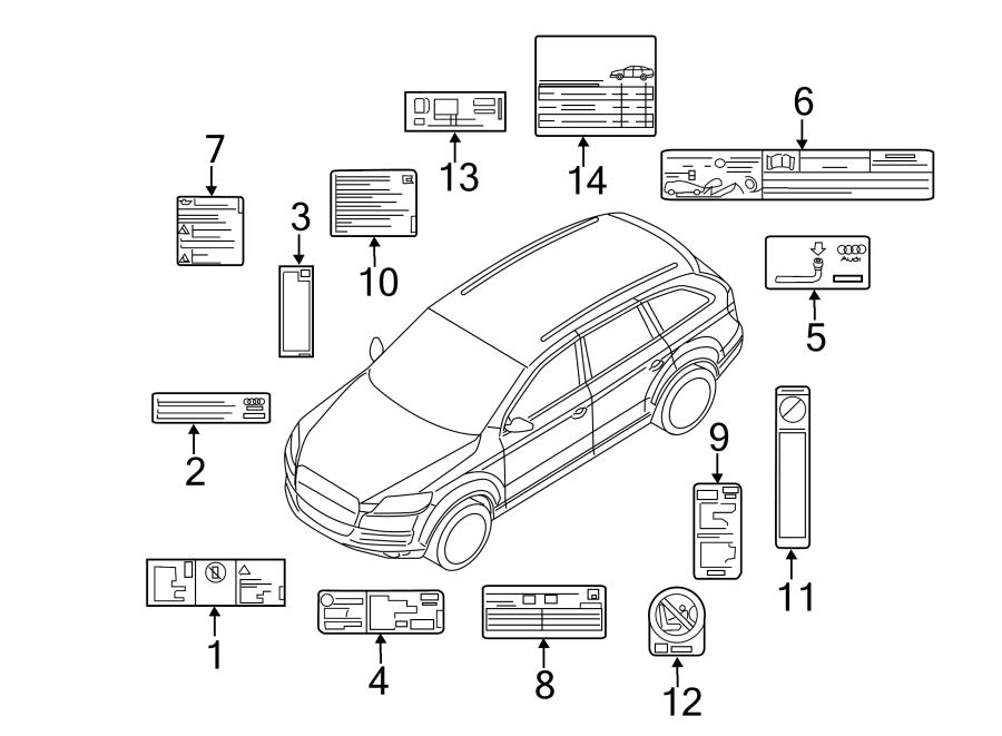 2011 Audi Emission label. Diesel. Diesel. Liter