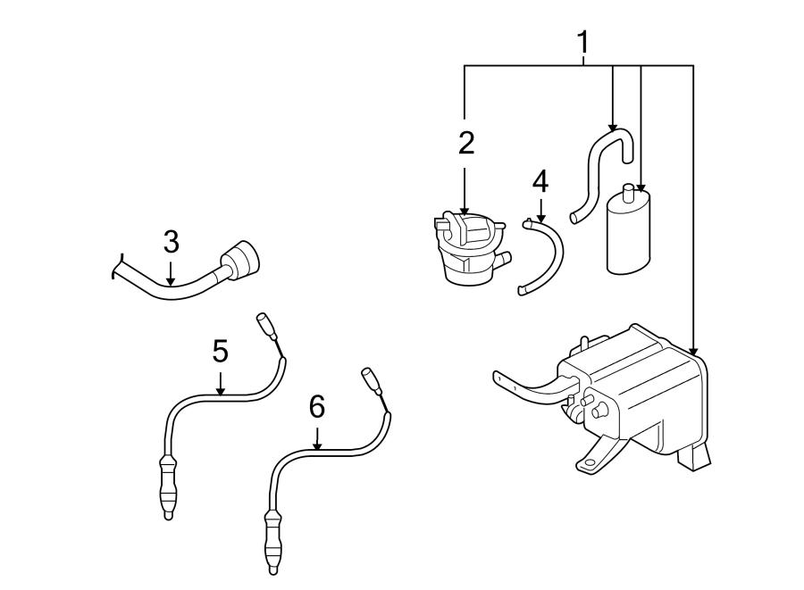 Audi Q7 Pump. Leak. Detection. System. EVaporative. Detect