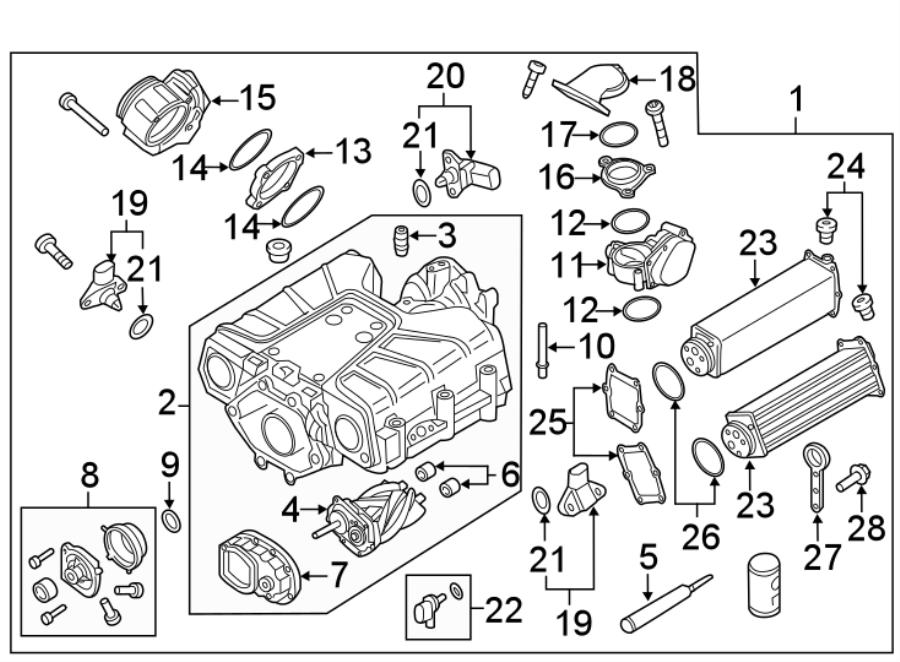 Audi Q7 Supercharger Clutch. 3.0 LITER. 3.0 LITER GAS. GAS