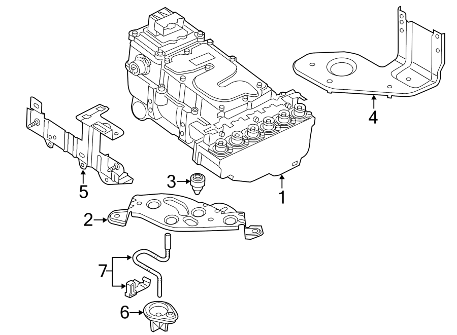 2014 Audi Q5 Controller. Drive Motor Inverter. ELECTRONIC