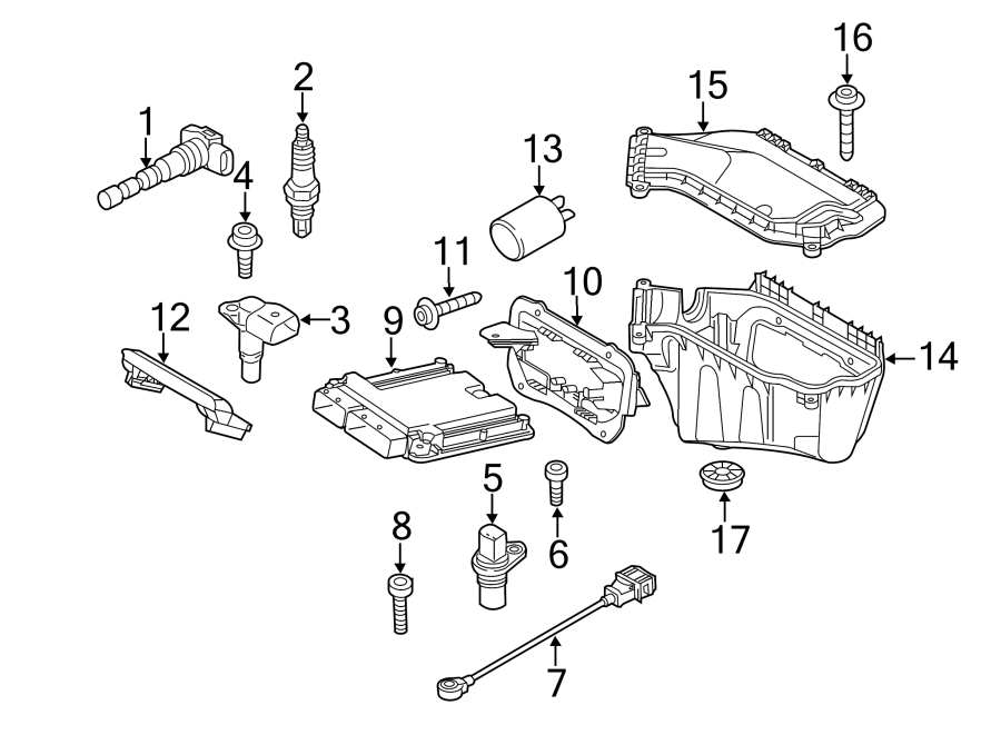 Audi Q5 Engine Camshaft Position Sensor. Engine Camshaft