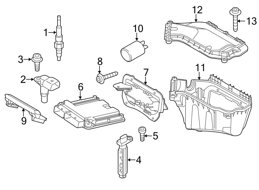 Audi Q5 Engine Camshaft Position Sensor. LITER, Right