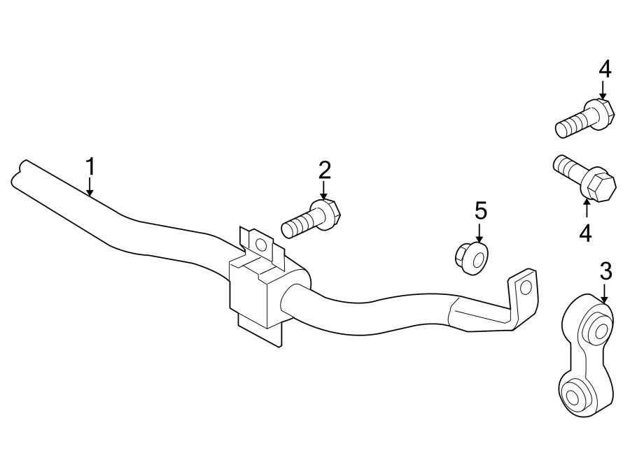 Audi Q5 Link. Stabilizer. Suspension. Bar. Kit. Connector