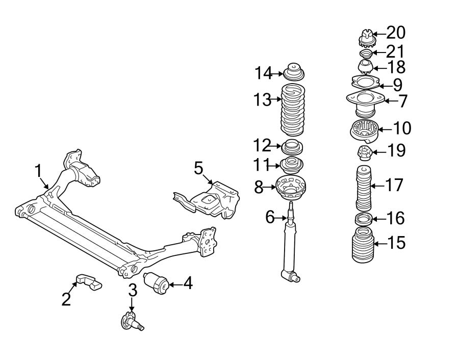 Audi A4 Beam Axle Bracket. W/O QUATTRO. SUSPENSION, Stub