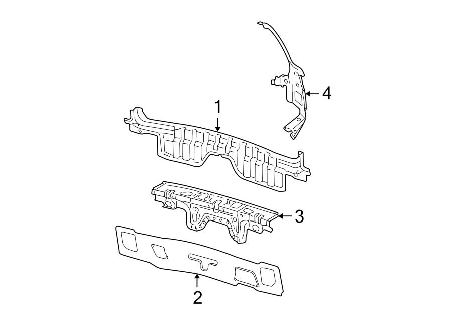 Audi S4 Rear Body Panel (Rear, Upper, Lower). SEDAN. SEDAN
