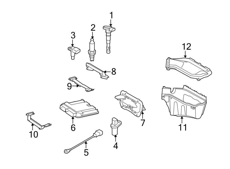 2013 Audi A4 Engine Camshaft Position Sensor. Engine