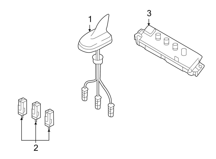 Audi A4 Connector. Antenna. CONVERTIBLE. COUPE. SEDAN