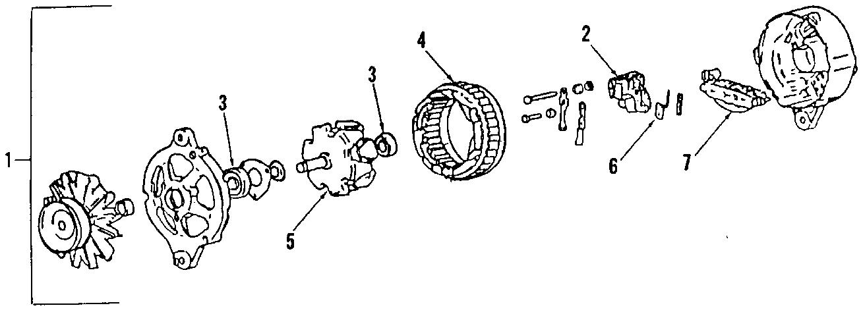 Audi A4 Voltage REGULAR. VOLTAGE REGULATOR. Part included