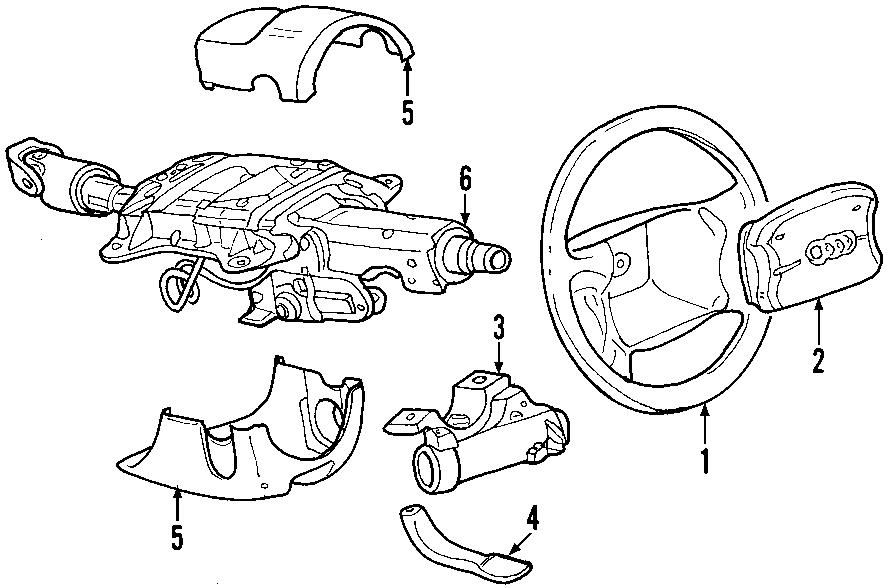 2004 Audi A4 3.0L V6 CVT FWD Lock. Ignition. Steering