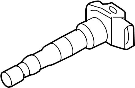 2008 Audi Ignit. Coil. 3.2 liter. 3.6 liter. A3; 3.2l. Q7