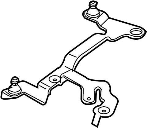 Audi A3 Mount bracket. Retainer plate. 3.2 LITER. 3.6