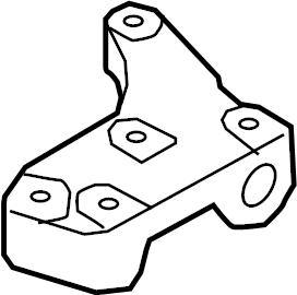 2006 Audi Mount. Bracket. Transmission. (Upper, Lower