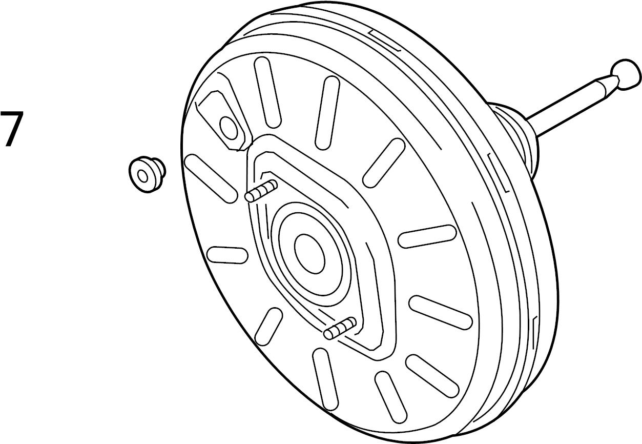 2015 Audi Heat shield. PROT Plate. TRW, Sedan, PANEL