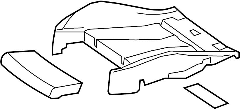 2017 Audi A3 Sportback e-tron Rep. Kit. Seat, side