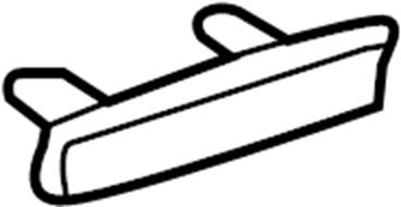 2017 Audi A3 Deck Lid Stop Buffer. Convertible,. Outer