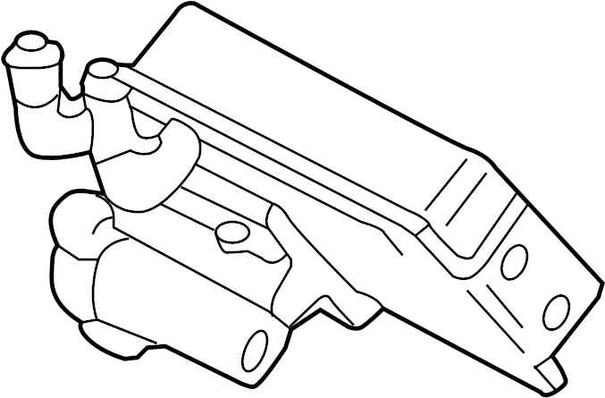 Audi Q5 Automatic Transmission Oil Cooler. LITER, HOSES