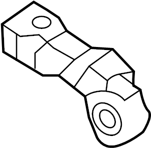 Audi A4 Air Bag Impact Sensor (Front). SENSORS, MODULES