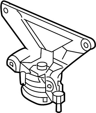 2008 Audi Automatic Transmission Mount. LITER, Wtrans