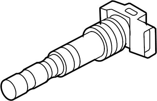 2009 Audi Direct Ignition Coil. IGNIT. COIL. LITER, VIN