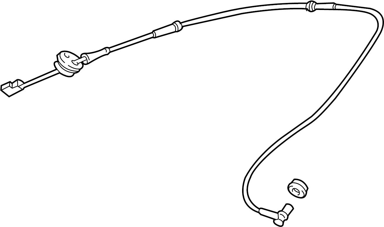 Audi A4 Abs wheel speed sensor (rear). Control, range